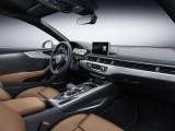 Отделка интерьера купе Ауди А5 2017 модельного года