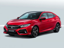 Хэтчбек Honda Civic 2017-2018 фото