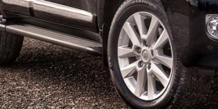 Шины и диски на Тойота Ленд Крузер