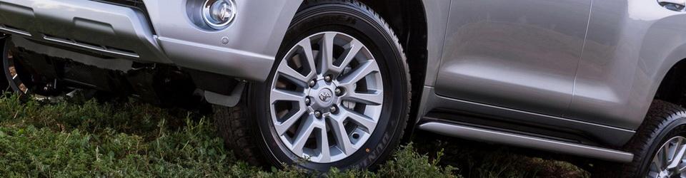 Размер дисков и шин на Тойота Ленд Крузер Прадо