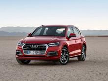 Audi Q5 2017-2018 фото обновленной модели