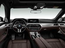 Отделка интерьера BMW 5 series 2017-2018