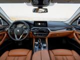 Интерьер БМВ 5 серии 2017-2018 пакет Luxury Line