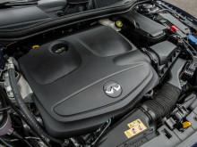 Двигатель под капотом Infiniti QX30