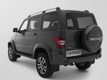 УАЗ Патриот 2017 года - задняя часть кузова