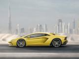 Спортивный силуэт Lamborghini Aventador