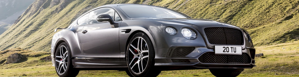 Bentley Continental Supersports 2017-2018