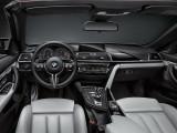 Салон кабриолета БМВ М4 рестайлинг