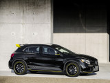 Mercedes GLA 45 AMG исполнение Yellow Night Edition