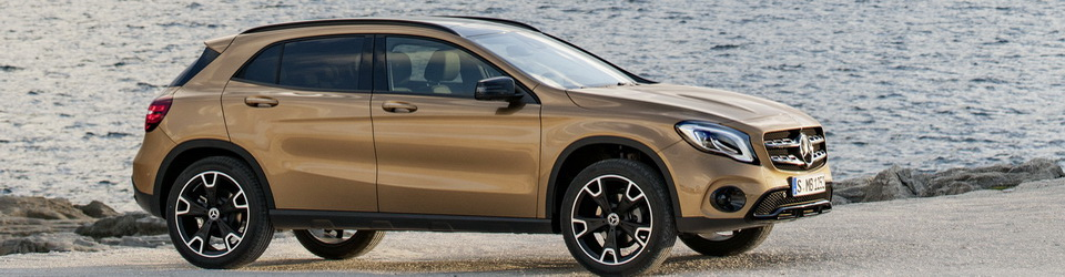 Mercedes-Benz GLA 2017-2018