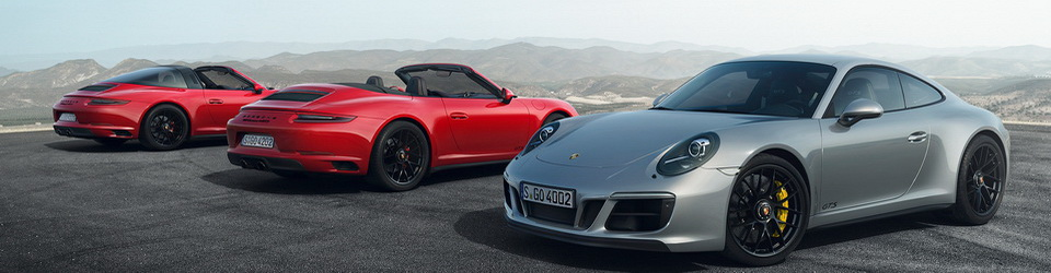 Porsche 911 GTS 2017-2018