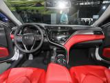 Интерьер Тойота Камри в новом кузове