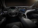 Оформление интерьера Toyota Camry Hybrid 8 поколения
