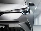 Передняя оптика модели Тойота