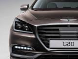 Genesis G80 2017-2018 года - фото, цена и комплектации, характеристики седана Генезис G80
