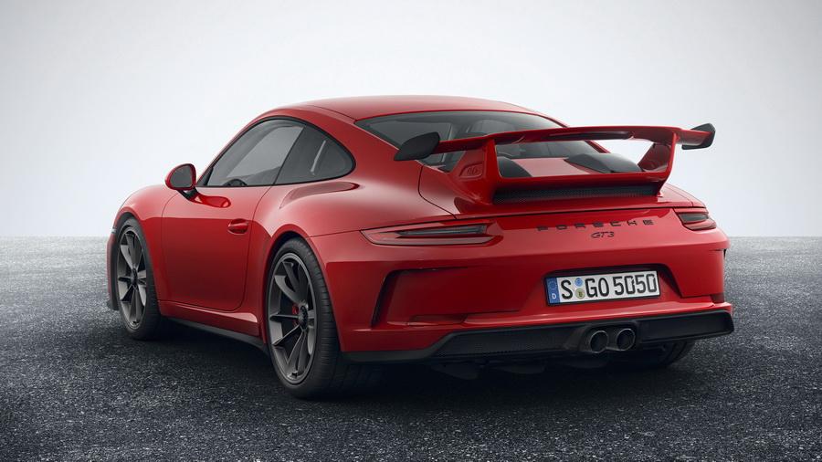 Porsche 911 GT3 2017-2018 - фото, цена, характеристики спорткупе Порше 911 GT3