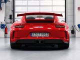 Кузов Porsche 911 GT3 вид сзади