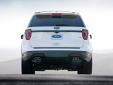 Ford Explorer 2018-2019 года вид сзади