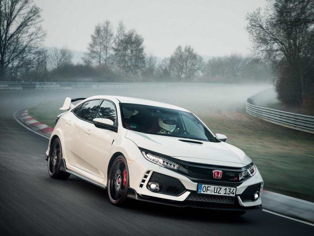 Honda Civic Type R 2018 2019 фото хэтчбека цена