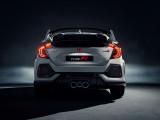 Новый Honda Civic Type R вид сзади