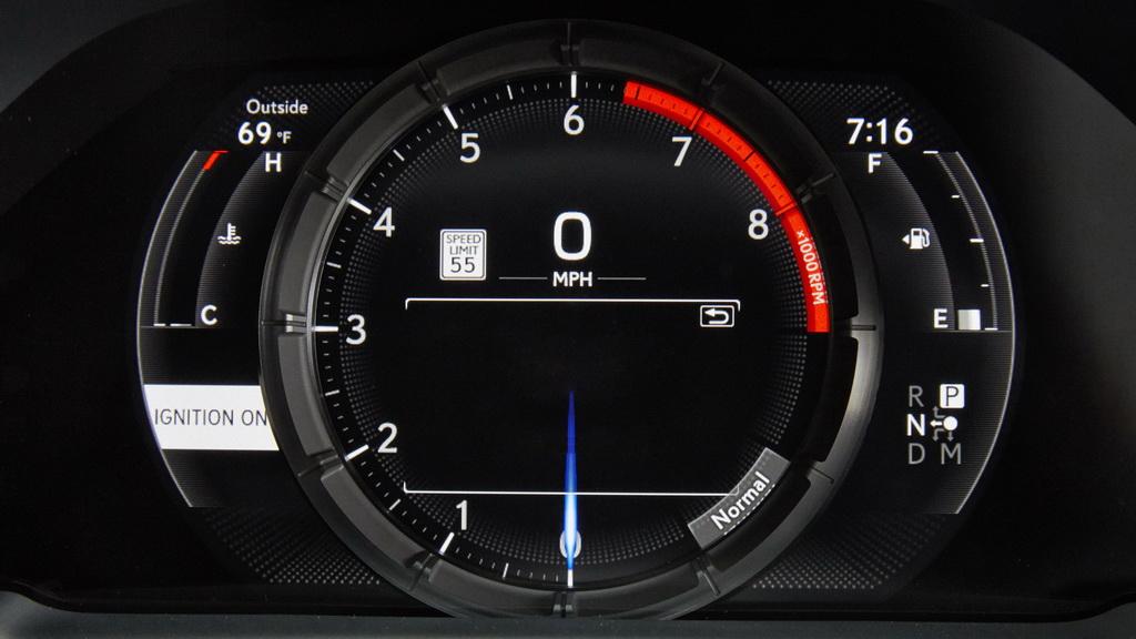 Приборная панель Lexus LS 500 F Sport