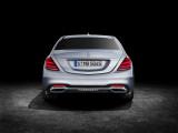 Новый Mercedes-Benz S-Class фото вид сзади