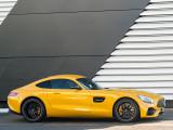 Профиль купе Mercedes AMG GT S 2017-2018