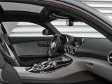 Архитектура интерьера Mercedes AMG GT C
