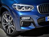 Дизайн BMW X3 M40i оптика и воздухозаборники
