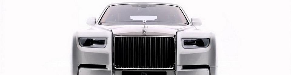 Rolls-Royce Phantom 2018-2019 - фото модели, цена в России, характеристики Роллс-Ройс Фантом 8 поколения
