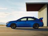 Силуэт Subaru WRX STI новый кузов 2017-2018 года