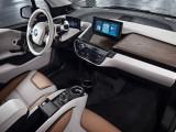 Отделка салона BMW i3 фото