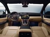 Отделка интерьера Porsche Cayenne фото