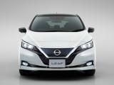 Nissan Leaf вид спереди