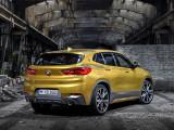 BMW X2 M Sport X оформление кормовой части
