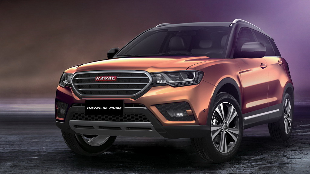 Фото Haval H6 Coupe 2017-2018
