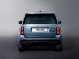Фото Range Rover вид сзади