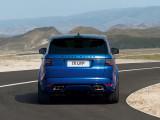 Дизайн кормы Range Rover Sport SVR