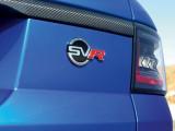 Логотип SVO на крышке багажника