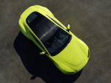 Aston Martin Vantage вид сверху