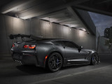 Chevrolet Corvette ZR1 дизайн кормы спорткара