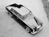 Mercedes W100 дизайн кузова