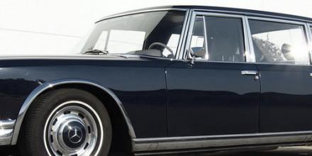 Mercedes-Benz 600 (W100) 1963-1981 – легендарный лимузин Мерседес