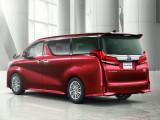 Корма Toyota Alphard рестайлинг 2018-2019 года