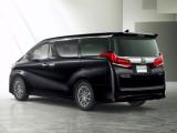 Toyota Alphard версия Executive Lounge фото кормы