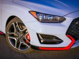 Дизайн кузова Hyundai Veloster N