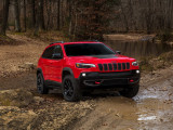 Дизайн нового кузова Jeep Cherokee Trailhawk 2018-2019