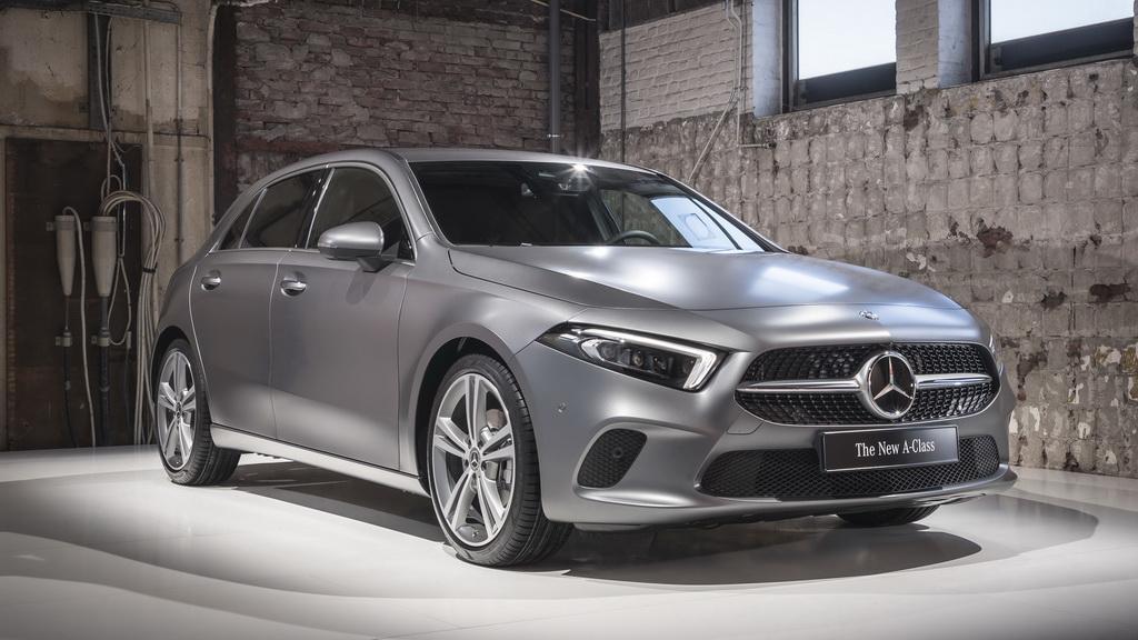 Mercedes-Benz A-Class 2018-2019 - фото и цена модели, комплектации, характеристики Мерседес А-класса W177