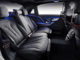 Задний ряд сидений Мерседес Майбах S-класс