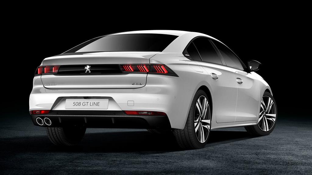 Peugeot 508 2018-2019 года - фото модели, цена и комплектации, характеристики Пежо 508
